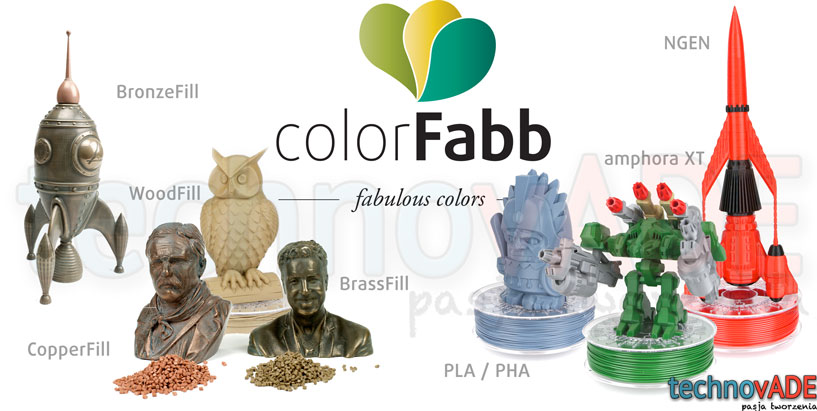 Filament 3D colorFabb